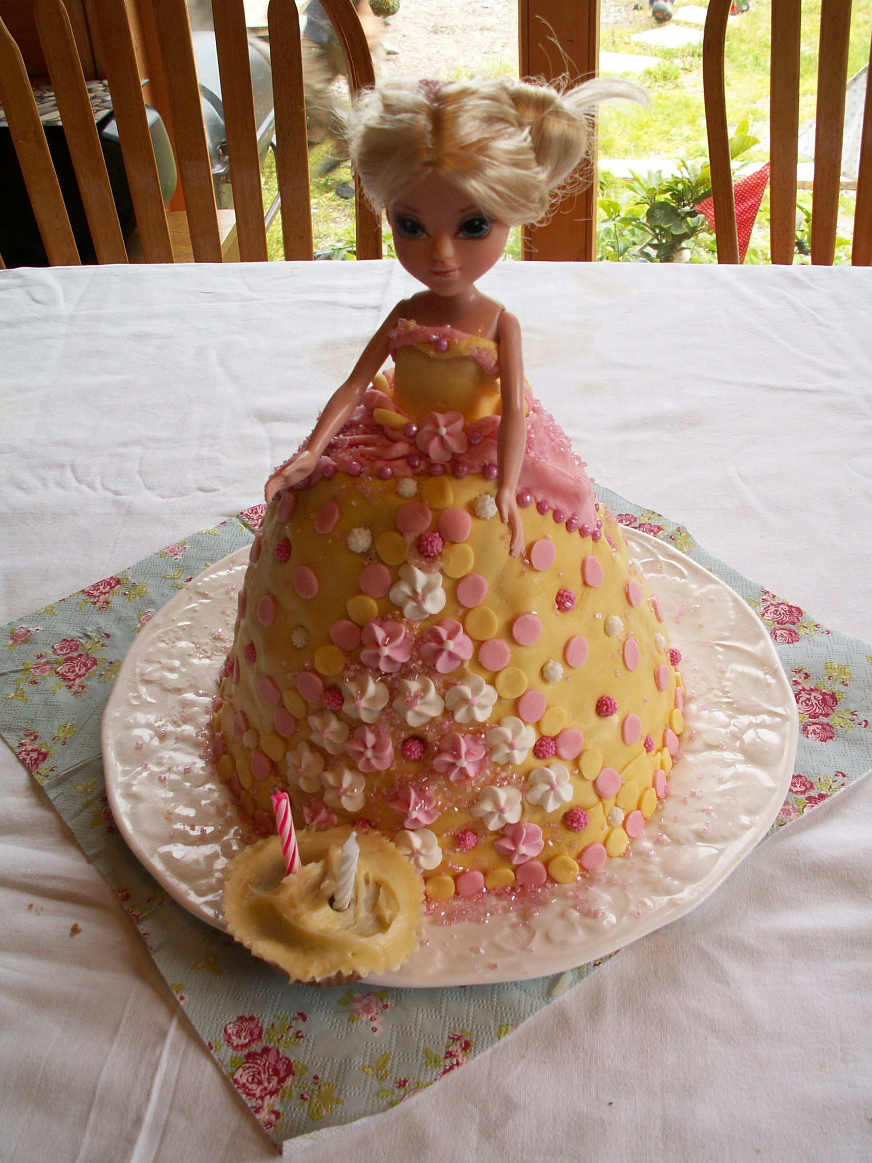Easy Doll Cake Images : Doll Cake Tutorial   the Nest