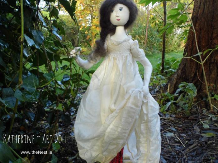 Katherine ~ Art Doll-cover