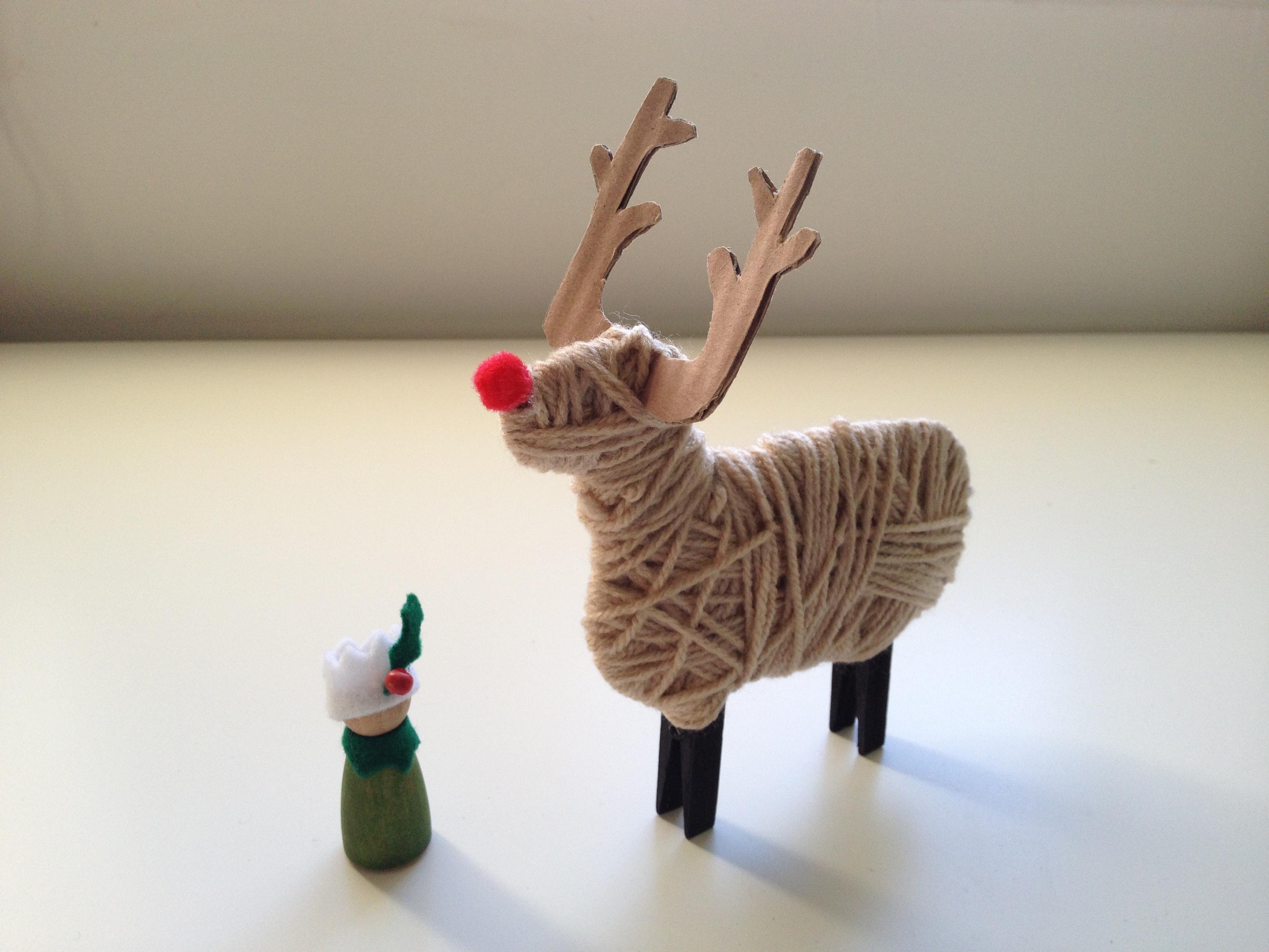 Wooly Reindeer Tutorial