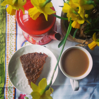 Grain, Nut, Refined Sugar-free Toffee Cake With Butterscotch Sauce